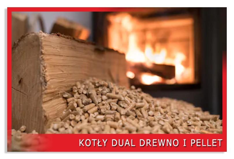 Kotły dual drewno i pellet
